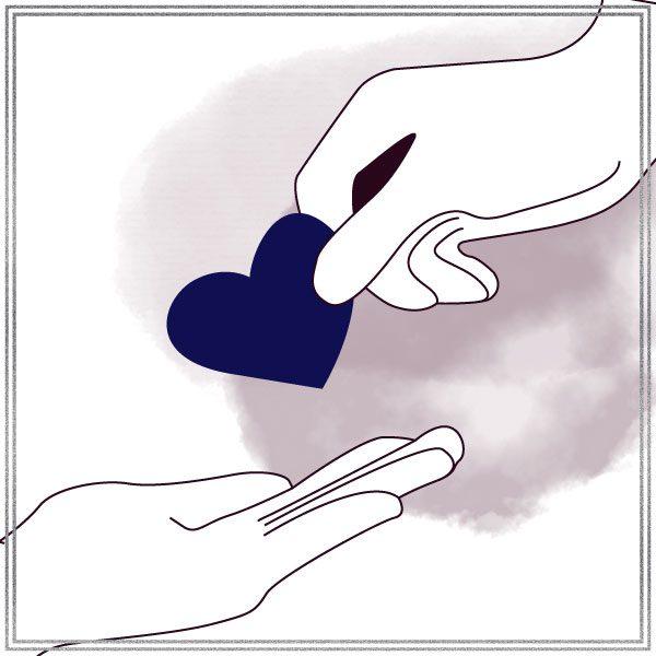 Illustration of Giving