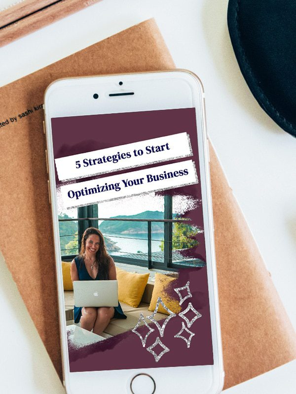 5 Strategies to Start Optimizing Your Business